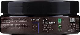 Parfums et Produits cosmétiques Gel fixant à l'extrait d'aloe vera pour cheveux - BioMAN Fixative Gel
