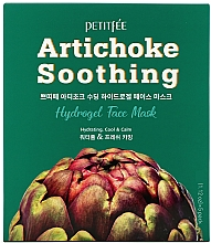 Parfums et Produits cosmétiques Masque hydrogel apaisant à l'extrait d'artichaut pour visage - Petitfee&Koelf Artichoke Soothing Face Mask