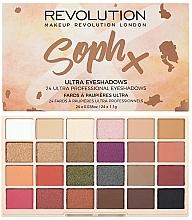 Parfums et Produits cosmétiques Palette de fards à paupières - Makeup Revolution Soph X Eyeshadow Palette