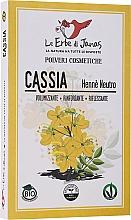 Parfums et Produits cosmétiques Poudre naturelle pour cheveux, Casse - Le Erbe di Janas Cassia (Neutral Henna)