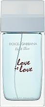 Parfums et Produits cosmétiques Dolce & Gabbana Light Blue Love is Love Pour Femme - Eau de Toilette