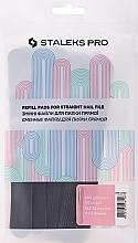 Parfums et Produits cosmétiques Kit autocollants abrasifs pour lime à ongles droite, DFE-22-180 grain - Staleks Pro (50 pcs)