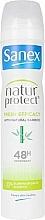 Parfums et Produits cosmétiques Déodorant spray à l'extrait de bambou - Sanex Natur Protect 0% Fresh Bamboo Deo Vapo