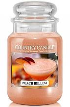 Parfums et Produits cosmétiques Bougie parfumée en jarre - Country Candle Peach Bellini