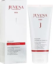 Parfums et Produits cosmétiques Gel douche et shampooing activateur d'hydratation - Juvena Rejuven Men Moisture Boost Shower & Shampoo Gel
