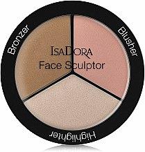 Parfums et Produits cosmétiques Palette de contouring - IsaDora Face Sculptor