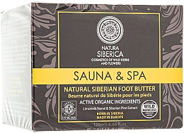 Parfums et Produits cosmétiques Beurre naturel de Sibérie pour les pieds - Natura Siberica