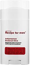 Parfums et Produits cosmétiques Déodorant stick - Recipe For Men Antiperspirant Deodorant Stick