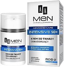 Parfums et Produits cosmétiques Crème à la vitamine E pour visage - AA Men Advanced Care Intensive 50+ Face Cream Rebuilding