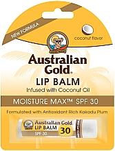 Parfums et Produits cosmétiques Baume à lèvres à l'huile de coco - Australian Gold Lip Balm Infused With Coconut Oil SPF 30