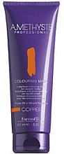 Parfums et Produits cosmétiques Masque colorant pour cheveux cuivrés - FarmaVita Amethyste Colouring Mask Copper