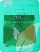 Parfums et Produits cosmétiques Masque tissu à l'extrait de thé vert pour visage - Elroel Golden Hour Mask Green Tea Soothing