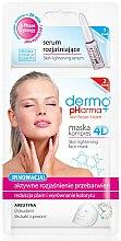 Parfums et Produits cosmétiques Masque et sérum éclaircissant à l'extrait de saule blanc pour visage - Dermo Pharma Skin Lightening