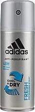 Parfums et Produits cosmétiques Déodorant spray - Adidas Anti-Perspirant Fresh Cool & Dry 48H
