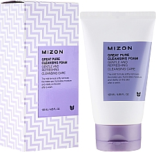 Parfums et Produits cosmétiques Mousse crémeuse à l'aloès et pourpier pour visage - Mizon Great Pure