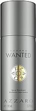 Parfums et Produits cosmétiques Azzaro Wanted - Déodorant spray