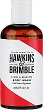Parfums et Produits cosmétiques Gel douche énergisant à l'aloe vera - Hawkins & Brimble Elemi & Ginseng Body Wash