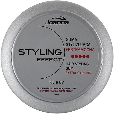 Cire coiffante fixation extra forte - Joanna Styling Effect Hair Styling Gum Extra Strong