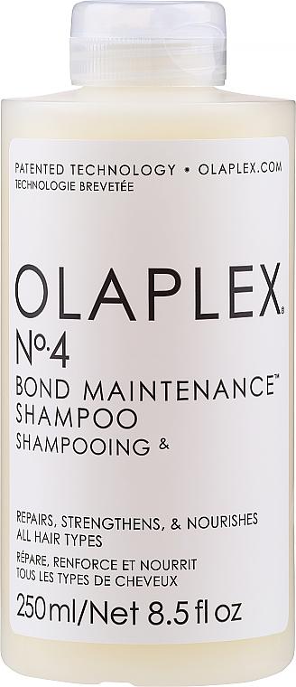 Shampooing à l'extrait de banane - Olaplex Professional Bond Maintenance Shampoo №4