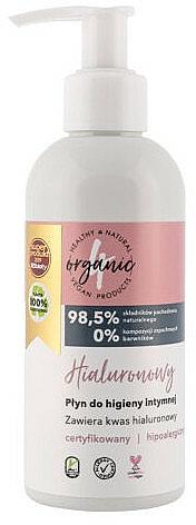 Gel d'hygiène intime à l'acide hyaluronique - 4Organic Hyaluronic Intimate Gel