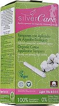 Parfums et Produits cosmétiques Tampons en coton bio avec applicateur, 18 pcs - Masmi Silver Care Light