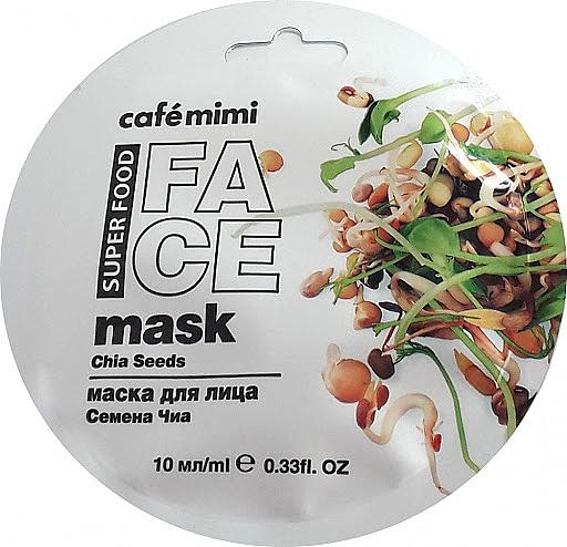 Masque aux graines de chia pour visage - Cafe Mimi Face Mask