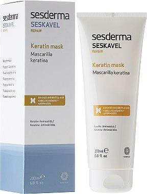 Masque revitalisant à la kératine pour les cheveux - SesDerma Laboratories Seskavel Repair Keratin Mask — Photo N1