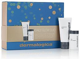 Parfums et Produits cosmétiques Dermalogica Daily Glow Duo - Set (baume visage/15ml + microfoliant visage/4 g)