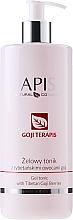 Parfums et Produits cosmétiques Gel-tonique à l'extrait de baies de goji et lotus pour visage - APIS Professional Goji TerApis Gel Tonic