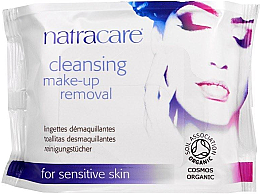 Parfums et Produits cosmétiques Lingettes démaquillantes - Natracare Cleansing Make-Up Removal Wipes
