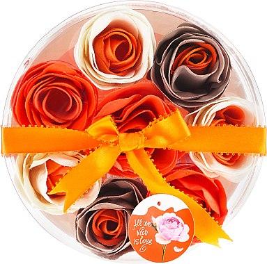 Confettis de savon parfumés à l'orange , 8 pcs - Spa Moments Bath Confetti Orange
