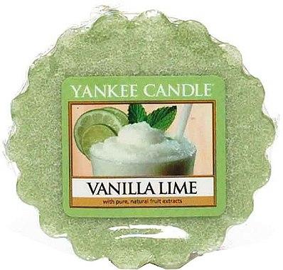 Tartelette de cire parfumée Vanille et lime - Yankee Candle Vanilla Lime Wax Melts