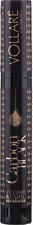 Mascara volume et courbe à l'huile d'argan - Vollare Cosmetics Carbon Black