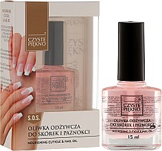 Parfums et Produits cosmétiques Huile nourrissante pour ongles et cuticules - Czyste Piekno Nourising Cuticle & Nail Oil