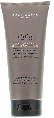 Shampooing et gel douche au ginseng et thé noir - Acca Kappa 1869 Shampoo&Shower Gel — Photo N2