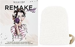 Parfums et Produits cosmétiques Gant démaquillant ReMake, blanc, 15x12cm - MakeUp