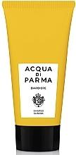 Parfums et Produits cosmétiques Shampooing à l'extrait de romarin et huile de graines de citrouille pour barbe - Acqua Di Parma Barbiere