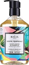Parfums et Produits cosmétiques Savon liquide de Marseille Cédrat petit grain - Baija Sieste Tropicale Marseille Liquid Soap