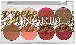 Parfums et Produits cosmétiques Palette d'ombres à paupières - Ingrid Cosmetics Bali Eyeshadows Palette