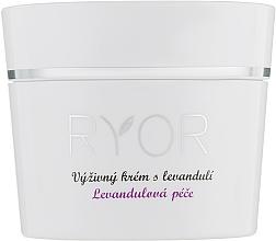 Parfums et Produits cosmétiques Crème à l'huile de lavande pour visage - Ryor Lavender Nourishing Face Cream