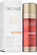Parfums et Produits cosmétiques Huile-sérum régénératrice vitaminée pour visage - Declare Vital Balance Power Duo Oil+Serum