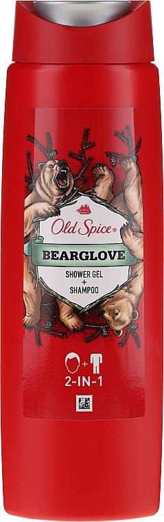 Shampooing et gel douche - Old Spice Bearglove Shower Gel + Shampoo