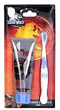 Parfums et Produits cosmétiques Corsair Jurassic World - Set (dentifrice/75ml + brosse à dents/1pièce)