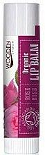 Parfums et Produits cosmétiques Baume à lèvres bio à la rose - Wooden Spoon Lip Balm Rose Kiss