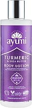 Parfums et Produits cosmétiques Lotion végane au beurre de karité et huile d'argan pour corps - Ayumi Turmeric & Shea Butter Body Lotion