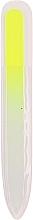 Parfums et Produits cosmétiques Lime à ongles en verre, jaune - Tools For Beauty Nail File Neon Color Glass