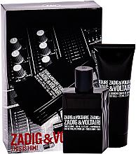 Parfums et Produits cosmétiques Zadig & Voltaire This is Him - Coffret (eau de toilette/50ml + gel douche/75ml)