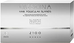 Parfums et Produits cosmétiques Traitement anti-chute, 20 ampoules - Labo Crescina Complete Treatment Hair Follicular Island 2100