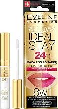 Parfums et Produits cosmétiques Base à lèvres à l'acide hyaluronique et vitaine A+E - Eveline Cosmetics All Day Ideal Stay Lipstick Primer