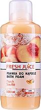 Parfums et Produits cosmétiques Mousse de bain à l'extrait de pêche - Fresh Juice Pach Souffle